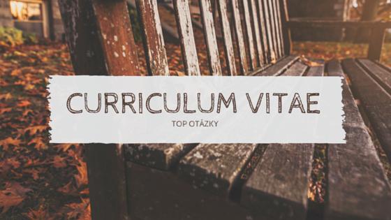 Jak napsat atraktivní curriculum vitae